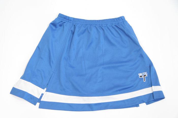Nederdel i Blå og hvid assymetrisk