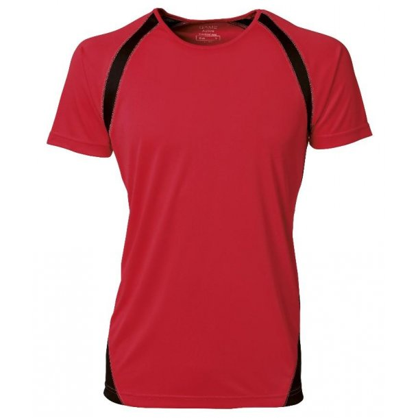 Herre T-shirt 2010.  Dry tech - 4 farver/sort
