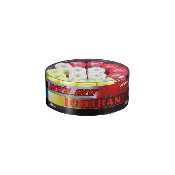 Super Grip - ICHIBAN badminton greb- Blandet i pose 30 stk.