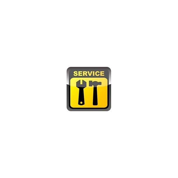 1. Service af opstregningsmakiner.