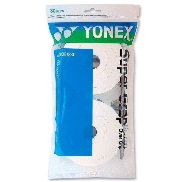 Yonex Super grap 30 -  Hvidt v/2 stk. 340kr.